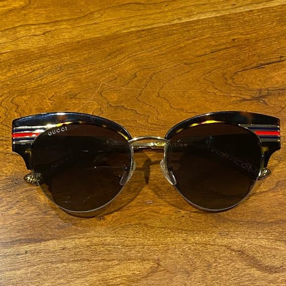 Gucci Sunglasses- Women's, never worn
